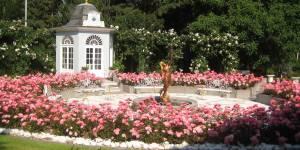 Edle Gartenanlage