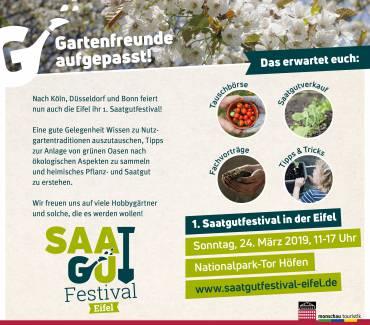 1. Eifeler Saatgutfestival